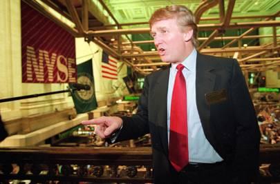 1995: Trump Hotels goes public