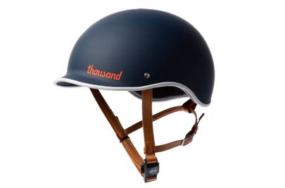 Thousand 'Navy PopLock' bicycle helmet