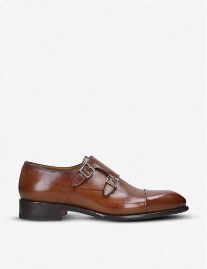 Monk shoes by Santoni