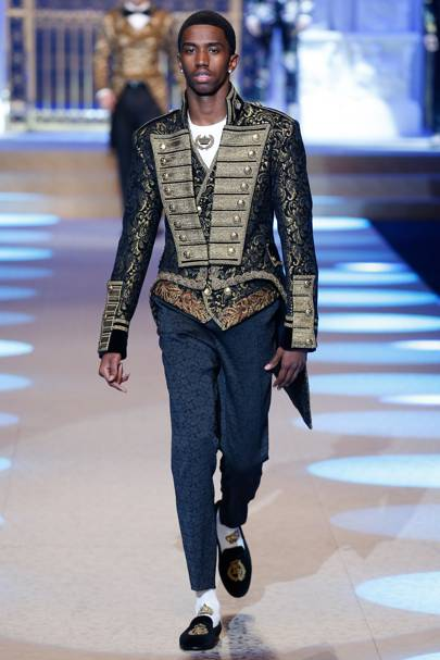 30132180 Dolce & Gabbana Autumn/Winter 2018 Menswear show report | British GQ