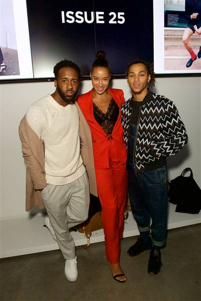 Shakka Philip, Yasmin Evans and Bluey Robinson