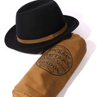 "Locke & Co x Carhartt WIP ""Voyager"" rollable trilby"