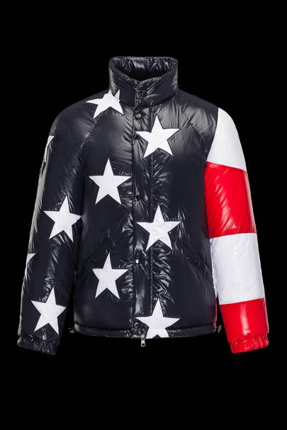 Thom Browne 'USA Flag 10' duvet jacket