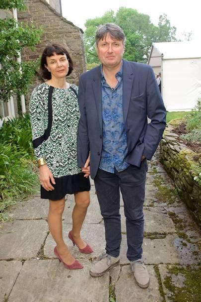 Sue and Simon Armitage