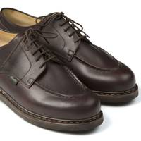 Chambord Café leather shoes by Paraboot (at Drake's)