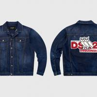 Denim jacket by OVO x Dsquared2