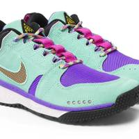 ACG Dog Mountain suede and mesh sneakers by Nike