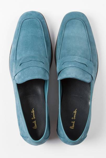 Paul Smith 'Glynn' suede penny loafers
