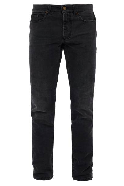 Faded skinny jeans by Saint Laurent