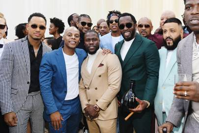 Terrence J, Tyran Smith, Kevin Hart, Diddy, DJ Khaled and Casanova