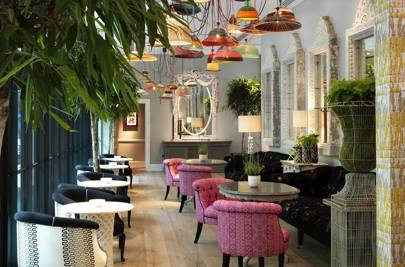 Forget Everything You Thought You New About Drab, Cookie Cutter Hotel Bars;  The Ham Yard Feels Unique, Fun And More Like A Chic Members Club Than A  Hotel.