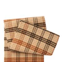 The checked scarf