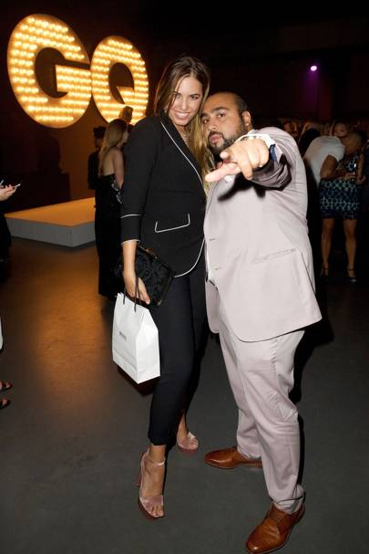 Amber Le Bon and Chabuddy G