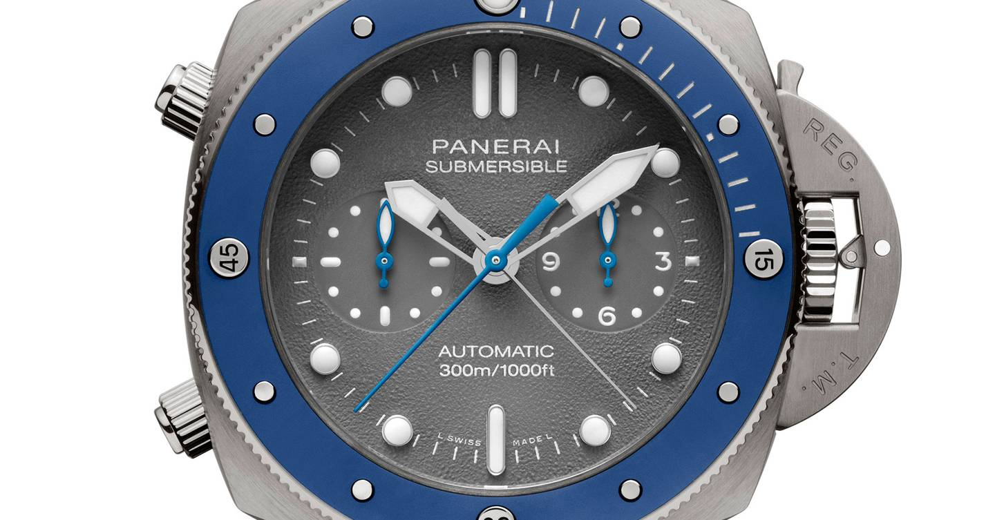 Officine Panerai Submersible Chrono Guillaume Nery Edition
