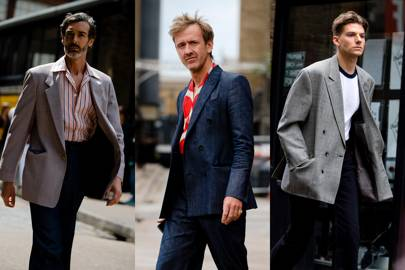 Go full-on Wolf Of Wall Street with your next suit jacket