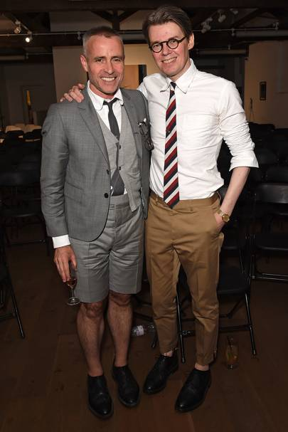 10. Thom Browne and Andrew Bolton