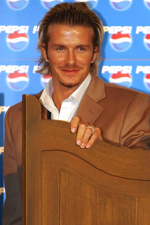 David Beckhams Best Haircuts British Gq