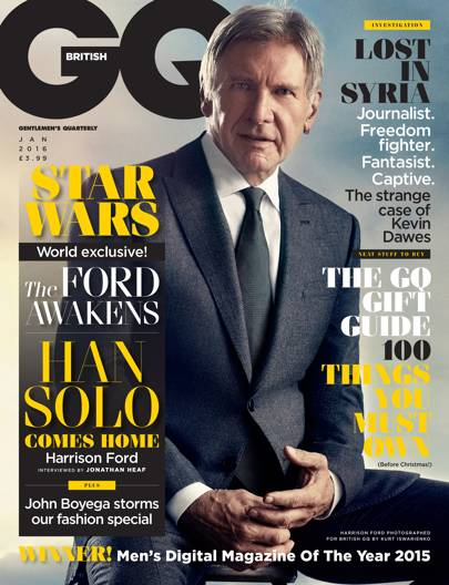 Harrison Ford - January 2016