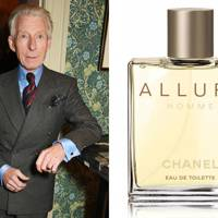 Edward Sexton, Savile Row tailor, picks Allure Homme by Chanel