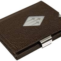 Mosaic brown wallet by Exentri®