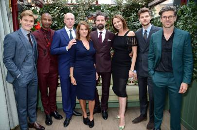 Oliver Cheshire, Eric Underwood, Dylan Jones, Tracey Emin, Jack Guinness, Caroline Rush, Jim Chapman and Darren Kennedy