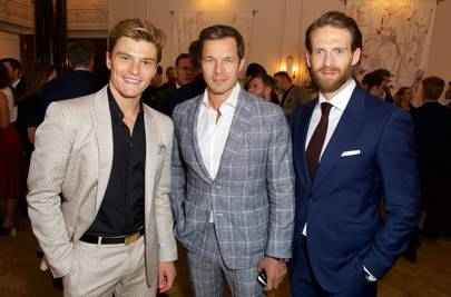Oliver Cheshire, Paul Sculfor and Craig McGinlay