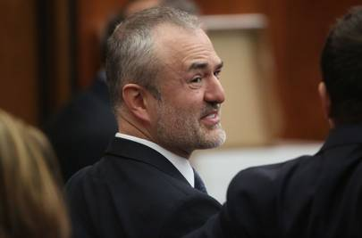 Nick Denton at the trial