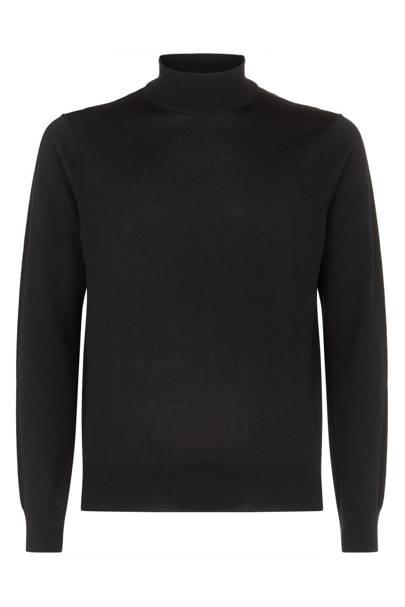Wool Turtleneck Sweater by Sandro