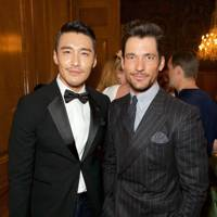Hu Bing and David Gandy