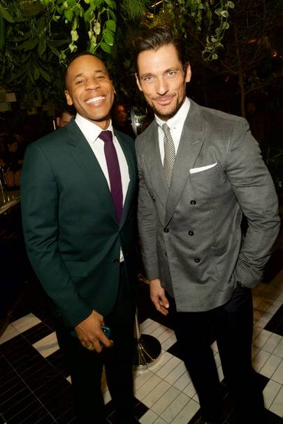 Reggie Yates and David Gandy