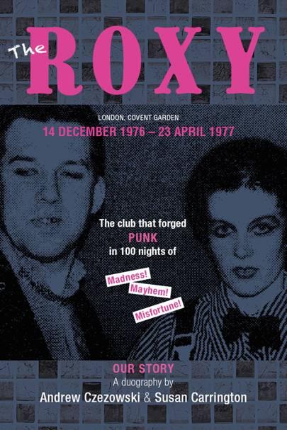 Front cover of Susan's original 1977 press cuttings and scrap book