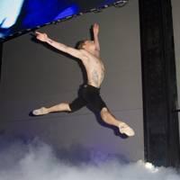 Sergei Polunin performing on stage