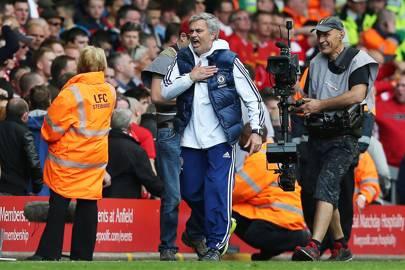 27 April 2014: Liverpool 0-2 Chelsea