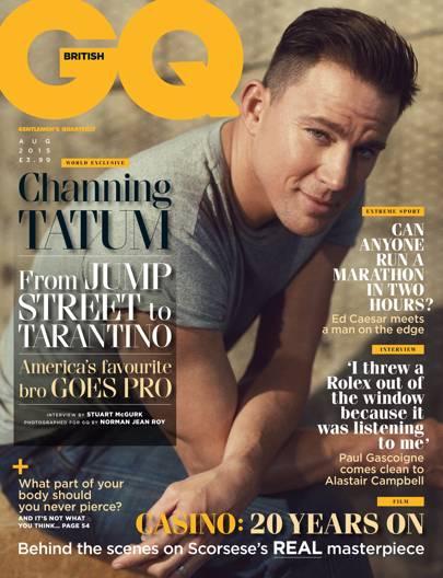 Channing Tatum - August 2015