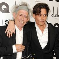 2011: Keith Richards and Johnny Depp