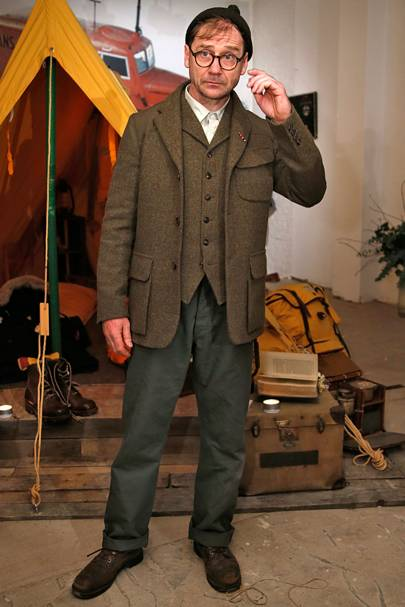 2ae8f8c0bb8c Nigel Cabourn Autumn Winter 2015 Menswear show report