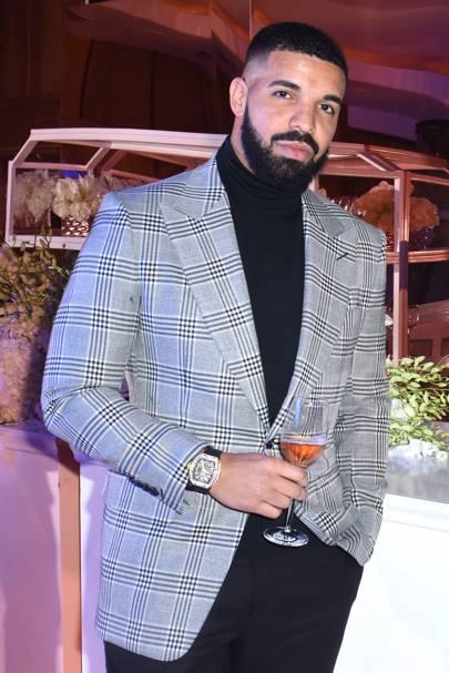 Drake's boss beard
