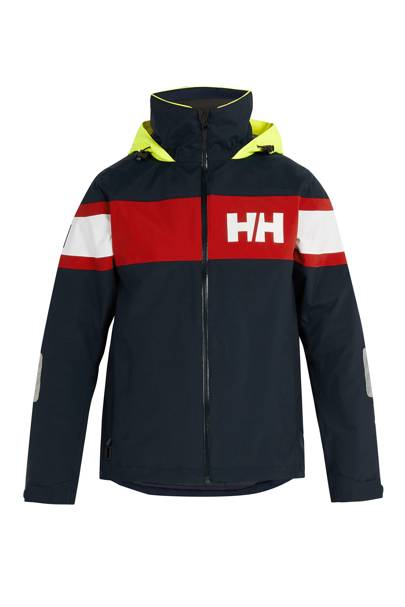 Salt Flag hooded jacket by Helly Hansen