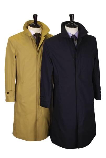 Richard Anderson ventile raincoat