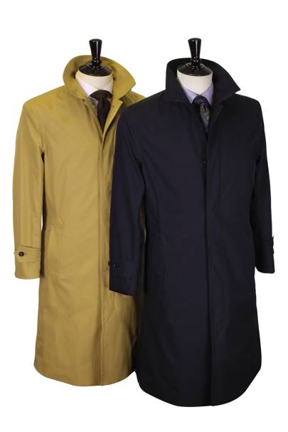Richard Anderson ventile raincoat