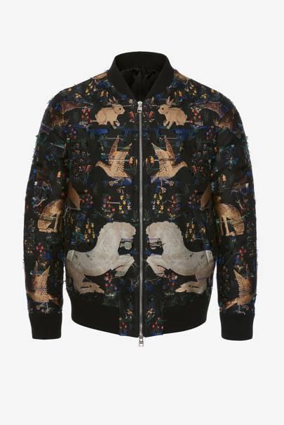 Jacket by Alexander McQueen