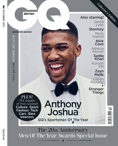 Sportsman Of The Year: Anthony Joshua