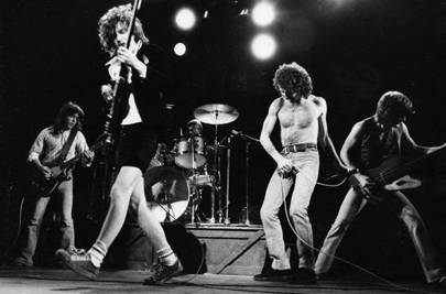 7. Crabsody in Blue by AC/DC