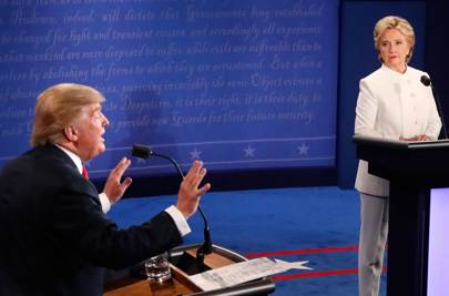 September/ October 2016: Clinton and Trump go head-to-head in three presidential debates