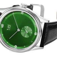 Ulysses Emerald Green by The Toc Watch
