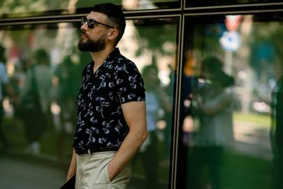 cb333c65e784 Best street style  Milan Fashion Week Men s SS19