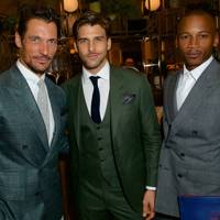 David Gandy, Johannes Huebl and Eric Underwood