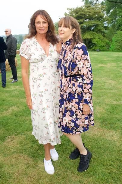 Tricia Ronane and Kate McGee