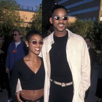 8. Vanguards of the micro-shades trend at The Nutty Professor premiere