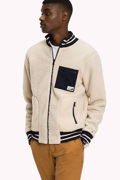 Shearling jacket by Tommy Hilfiger